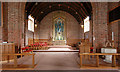 TQ4158 : St Mark, Church Road, Biggin Hill - Chancel by John Salmon