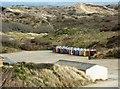 SS4437 : Beach Huts, Saunton Sands by Tom Jolliffe