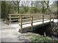 SE2205 : Footbridge over Maze Brook by Christine Johnstone