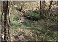 SD7214 : Footbridge over a brook by Philip Platt
