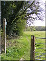 TM2751 : Footpath to Valley Farm by Adrian Cable