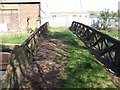 SO9893 : Tame Valley Canal - Crossing Jones Bridge by John M