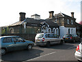 TQ1477 : Former station buildings, Thornbury Road by Stephen Craven