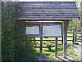 TM3263 : Information Boards at Pound Farm by Adrian Cable