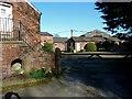SJ7881 : Owen House farmyard from Wood Lane, Mobberley by Anthony O'Neil