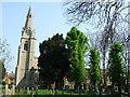 TF1802 : The Parish Church of Paston All Saints, Peterborough by Richard Humphrey