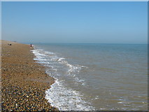 TR3850 : Walmer Shingle Beach by David Anstiss
