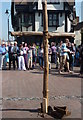 TR0161 : Easter cross in the  Market Place, Faversham : Week 16