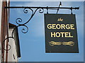 TQ7415 : The George Hotel sign by Oast House Archive