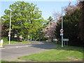 SJ8682 : Handforth Road by Peter Turner