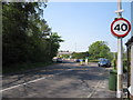 SJ8781 : Deanwater Roundabout, Dean Row by Peter Turner