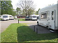 SK6276 : Caravan Club site, Clumber Park by Peter Turner