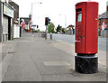 J3069 : Pillar box, Belfast by Albert Bridge