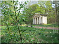 SK6274 : Doric Temple, Clumber Park by Peter Turner