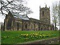 SE2905 : All Saints' Church, Silkstone.  Spring 2011 by Brian Downing