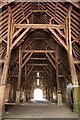 SU2694 : Interior, Great Coxwell Barn by Rob Noble
