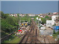 TQ8109 : Hastings Line by Oast House Archive