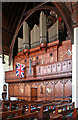 TQ3878 : Christ Church, Manchester Road, Isle of Dogs - Organ by John Salmon
