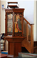 TQ3878 : Christ Church, Manchester Road, Isle of Dogs - Pulpit by John Salmon