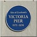 Photo of Victoria Pier blue plaque