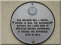 TR0161 : Plaque on Wall near Faversham Club by David Anstiss