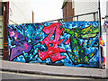 TQ8209 : Hoarding on High Street by Oast House Archive
