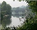 SO7193 : Bridge across the River Severn at Bridgnorth by Mat Fascione