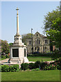 TF6219 : The war memorial in Tower Gardens, King's Lynn by Evelyn Simak