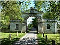 SE5159 : Entrance to Beningborough Hall, Newton on Ouse by Paul Buckingham