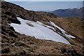 NN4273 : Snow beds on Mullach Coire nan Nead : Week 18