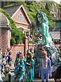 TQ8209 : Jack in the Green Mermaid by Oast House Archive