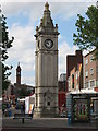 TQ3875 : The Clock Tower, Lewisham High Street, SE13 by Mike Quinn