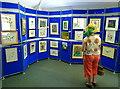ST5675 : Annual exhibition of botanical art - Bristol Botanic Garden by Anthony O'Neil