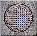 C0137 : Manhole cover, Dunfanaghy by Rossographer