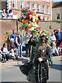 TQ8209 : Performer at the Jack in the Green procession by Oast House Archive