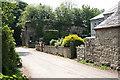 SX0975 : St Breward: by Lower Lank Cottage by Martin Bodman