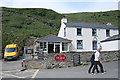 SX0486 : Tintagel: The Strand Cafe at Trebarwith Strand by Martin Bodman