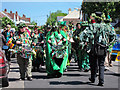 TQ8210 : Drummers at Jack in the Green procession by Oast House Archive