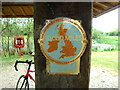 ST5382 : Celebratory SUSTRANS plaque near Seabank Power Station by Anthony O'Neil