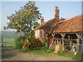 TQ4468 : Tongs Farm, Hawkwood Estate by Marathon