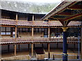TQ3280 : Inside Shakespeare�s Globe Theatre by PAUL FARMER