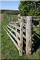 NN9208 : Gate &amp; Fence by Martin Addison
