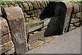 SJ4259 : Aldford village stocks by Jeff Buck