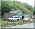 SO2703 : John Bingham Motor Repairs, Pontnewynydd by John Grayson