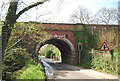 TQ3548 : Railway bridge, Tilburstow Hill Rd by N Chadwick