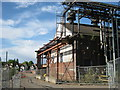 SP0177 : Old factory / pumping station, Longbridge by Michael Westley