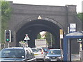 SP0278 : West Heath Road, Railway Bridge by Michael Westley
