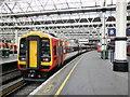 TQ3179 : Exeter train stands at platform 8, Waterloo Station : Week 19