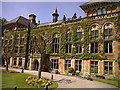 Dist:1.0km<br/>Built as a Bishop's Palace in 1714, Soughton Hall was the home to a succession of heirs in the Wynne-Bankes family line. It is now a luxury hotel see http://www.soughtonhall.co.uk/home