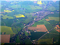 TL8643 : Long Melford from the air by Thomas Nugent